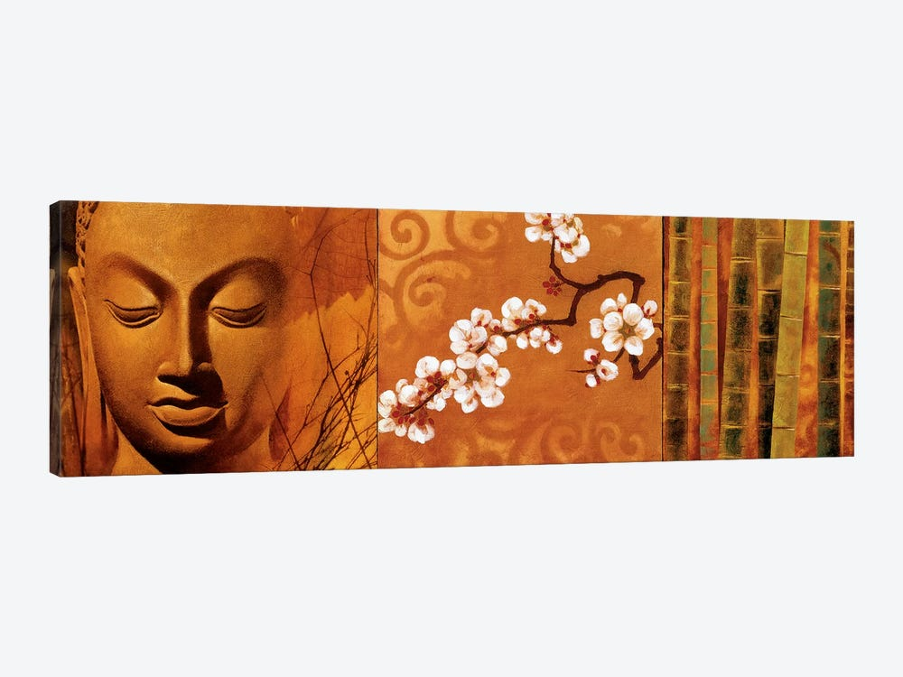 Buddha Panel I by Keith Mallett 1-piece Canvas Art
