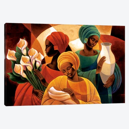 Caress Canvas Print #KMA16} by Keith Mallett Canvas Art