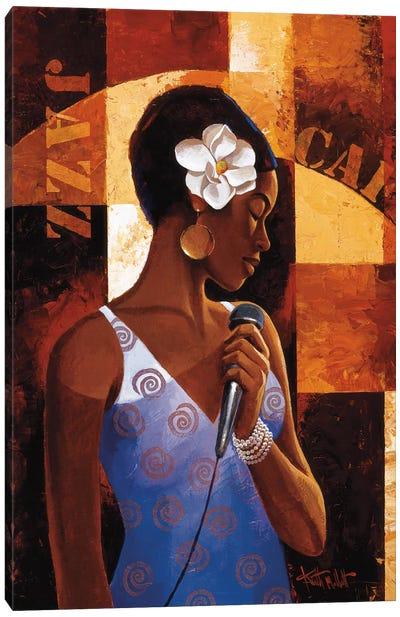 Jazz Cafe Canvas Art Print