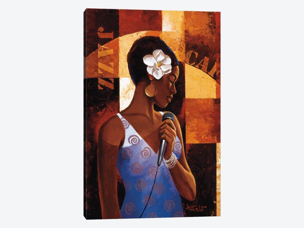 Jazz Cafe by Keith Mallett 1-piece Canvas Artwork