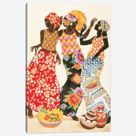 Jubilation Canvas Print #KMA21} by Keith Mallett Canvas Artwork