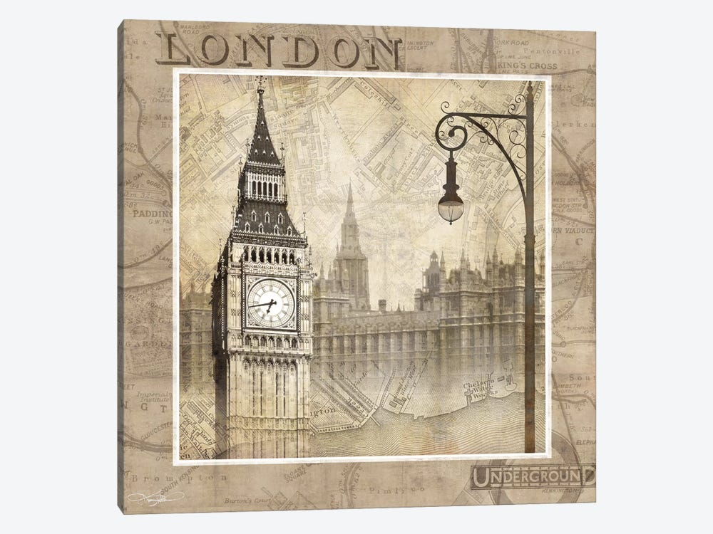 London Calling by Keith Mallett 1-piece Art Print