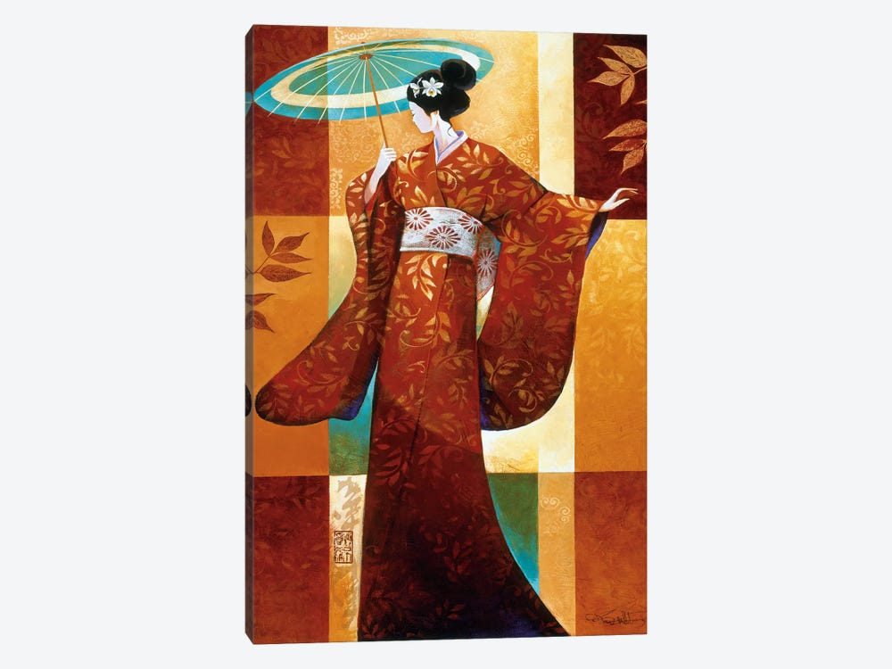 Misaki by Keith Mallett 1-piece Canvas Art
