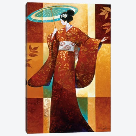 Misaki Canvas Print #KMA28} by Keith Mallett Canvas Art