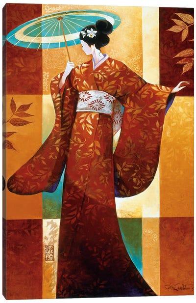 Misaki Canvas Art Print