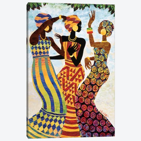 Celebration Canvas Print #KMA2} by Keith Mallett Canvas Art
