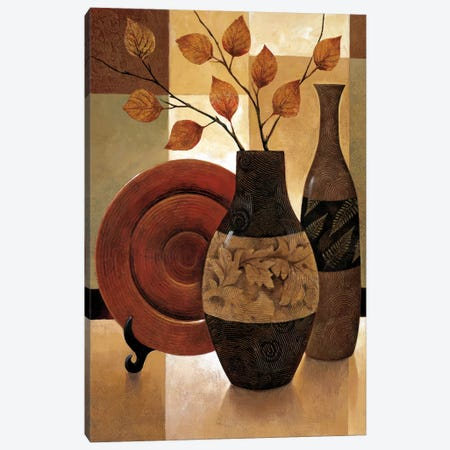 Nature's Patchwork I 3-Piece Canvas #KMA31} by Keith Mallett Canvas Print