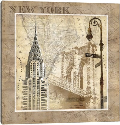 New York Serenade Canvas Art Print