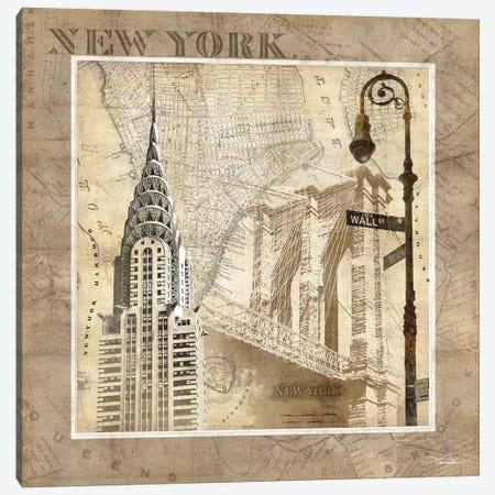 New York Serenade Canvas Print #KMA34} by Keith Mallett Canvas Wall Art