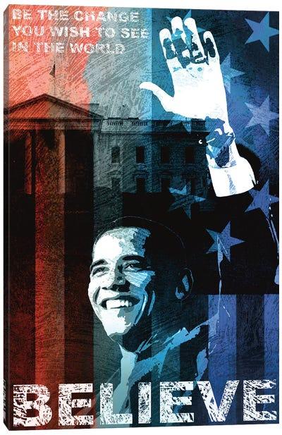 Obama: Believe Canvas Art Print