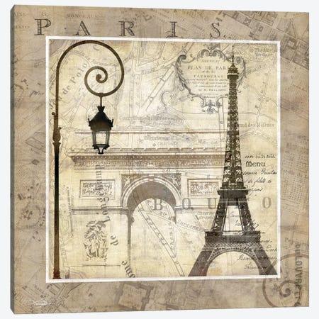 Paris Holiday Canvas Print #KMA37} by Keith Mallett Canvas Art