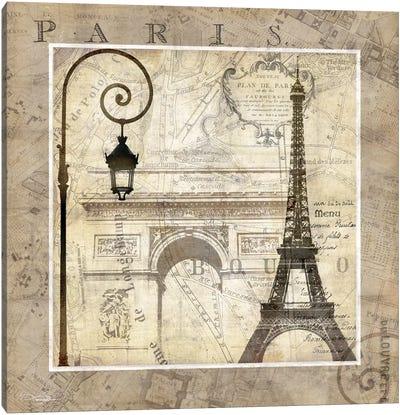 Paris Holiday Canvas Art Print