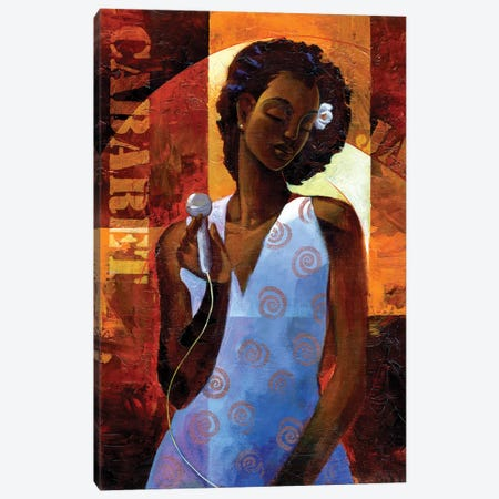 Diva Canvas Print #KMA3} by Keith Mallett Canvas Artwork
