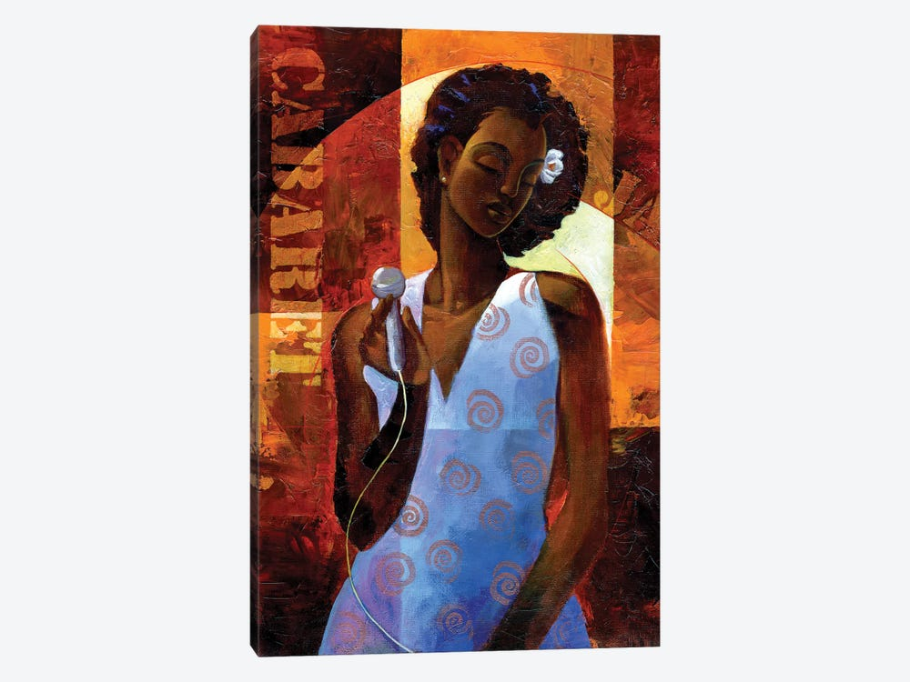 Diva by Keith Mallett 1-piece Canvas Print