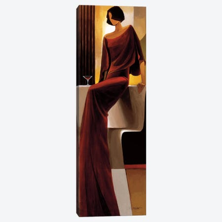 Poise Canvas Print #KMA40} by Keith Mallett Canvas Wall Art