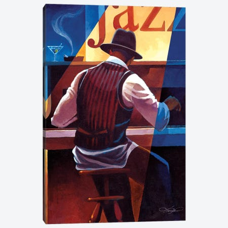 Ragtime Canvas Print #KMA41} by Keith Mallett Canvas Art
