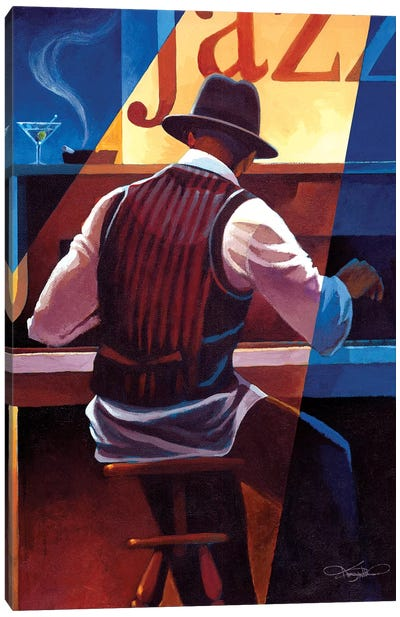 Ragtime Canvas Art Print