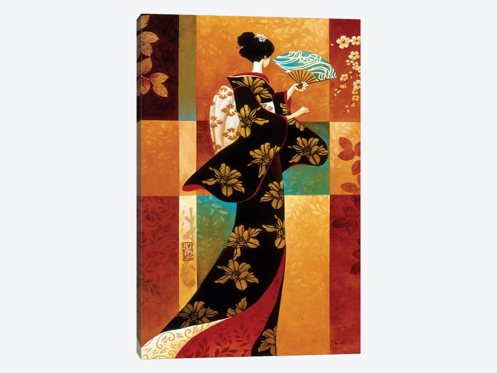 Sakura by Keith Mallett 1-piece Canvas Art