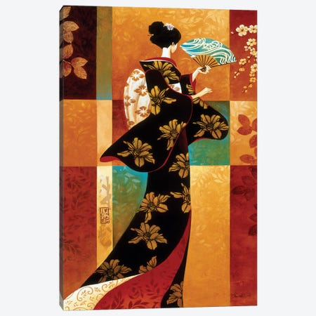 Sakura Canvas Print #KMA42} by Keith Mallett Canvas Art