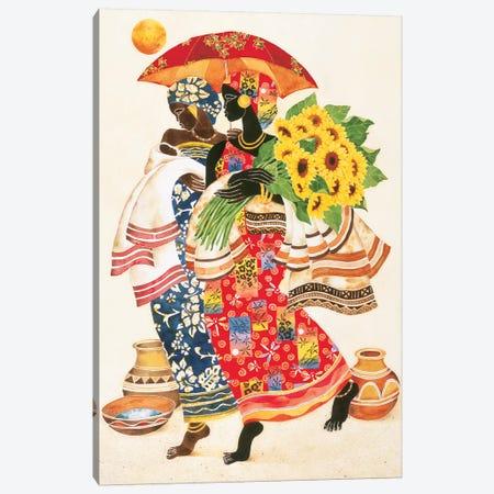 Sunflowers Canvas Print #KMA47} by Keith Mallett Art Print