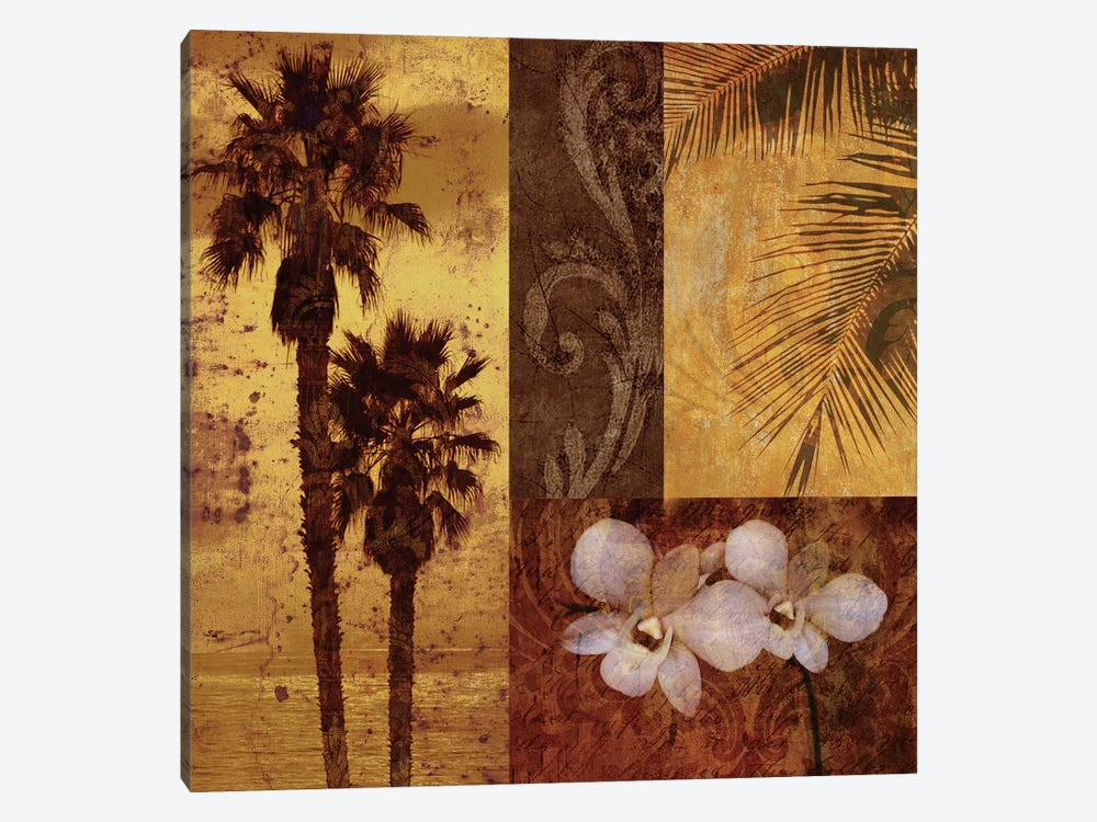 Sunset Beach I 1-piece Canvas Wall Art