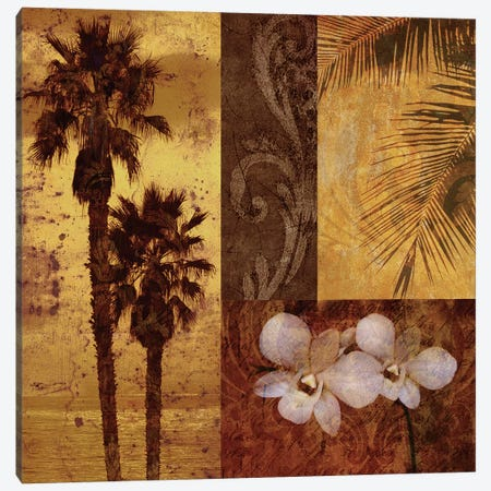 Sunset Beach I Canvas Print #KMA48} by Keith Mallett Canvas Art
