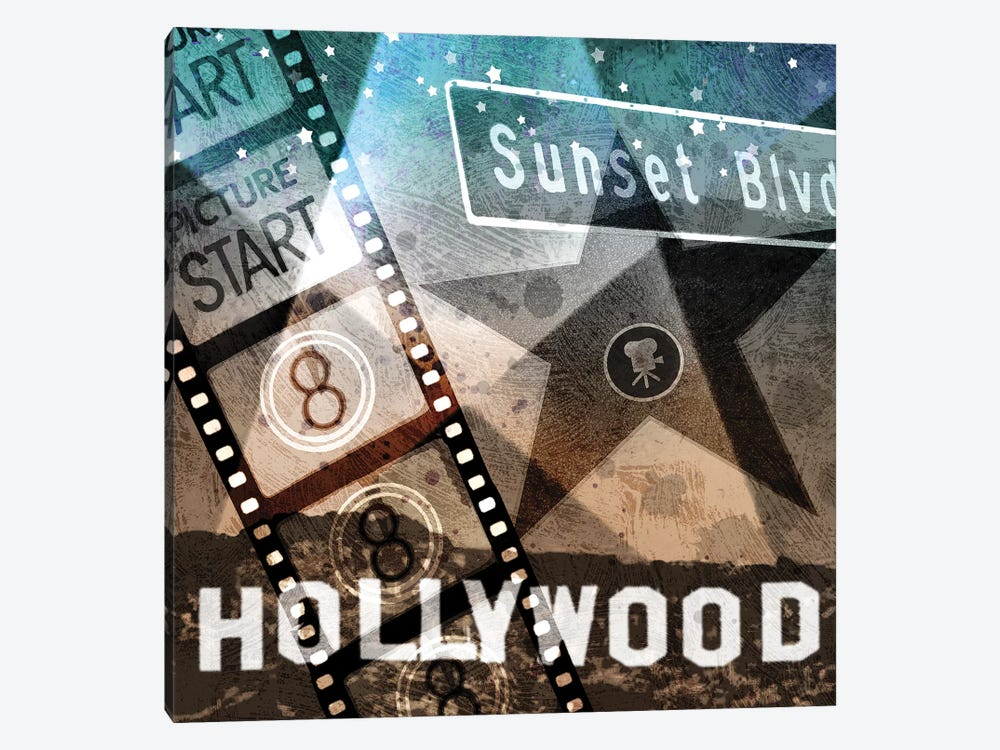 Sunset Blvd. by Keith Mallett 1-piece Canvas Print