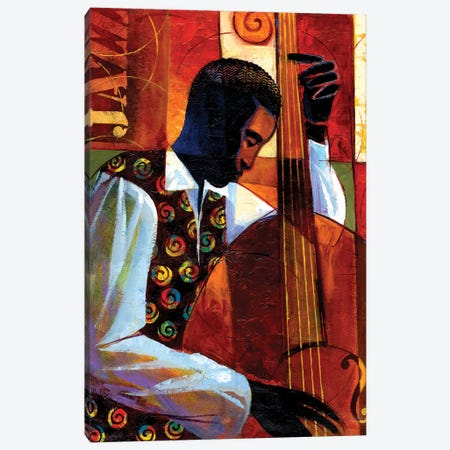 Jazz Canvas Print #KMA4} by Keith Mallett Canvas Art Print