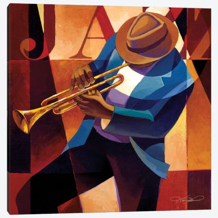 Swing Canvas Print #KMA50} by Keith Mallett Canvas Art Print