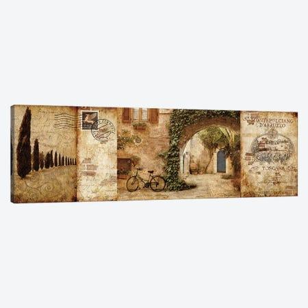 Tuscan Courtyard Canvas Print #KMA51} by Keith Mallett Canvas Print