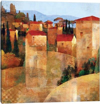 Tuscan Hillside Canvas Art Print