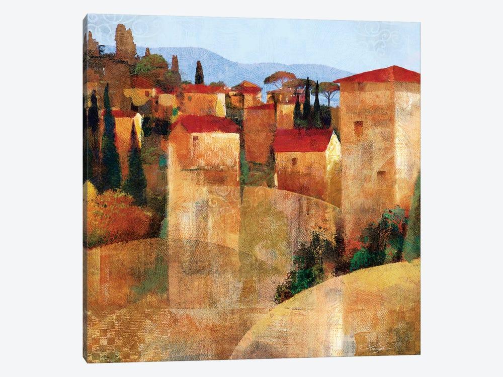 Tuscan Hillside by Keith Mallett 1-piece Canvas Print