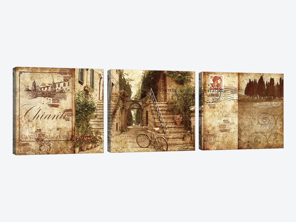 Tuscany 3-piece Canvas Wall Art