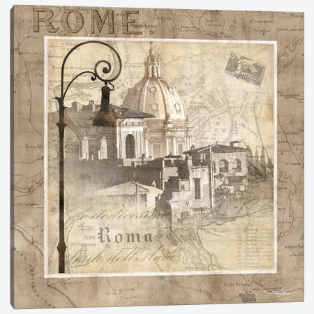 When In Rome Canvas Print #KMA54} by Keith Mallett Canvas Wall Art