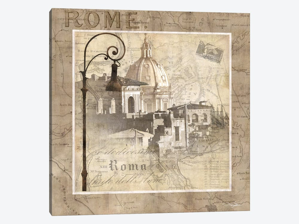 When In Rome by Keith Mallett 1-piece Canvas Print