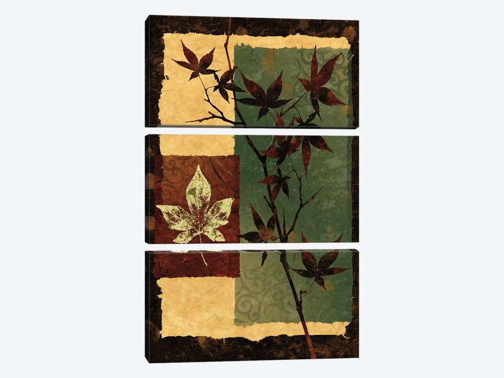 New Leaf II by Keith Mallett 3-piece Canvas Wall Art