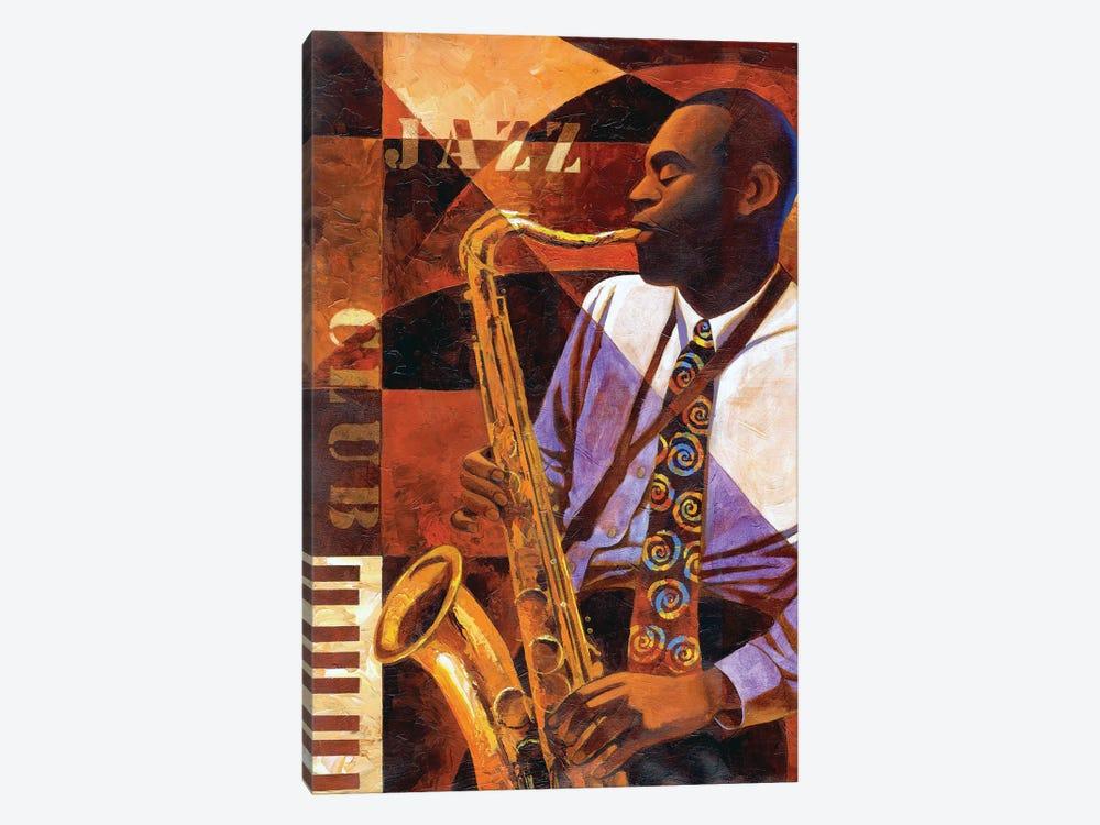 Jazz Club by Keith Mallett 1-piece Canvas Print