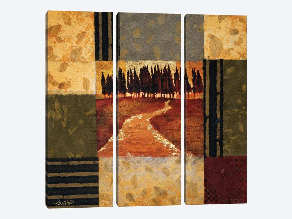 Pastorale by Keith Mallett 3-piece Canvas Wall Art