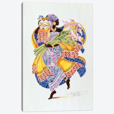 Jaha Canvas Print #KMA61} by Keith Mallett Canvas Artwork