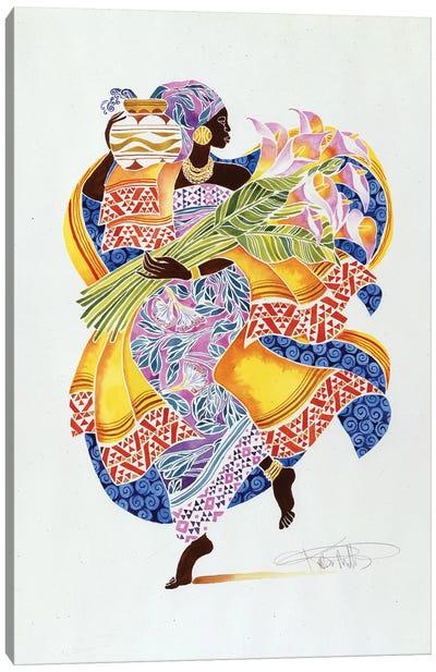 Jaha Canvas Art Print