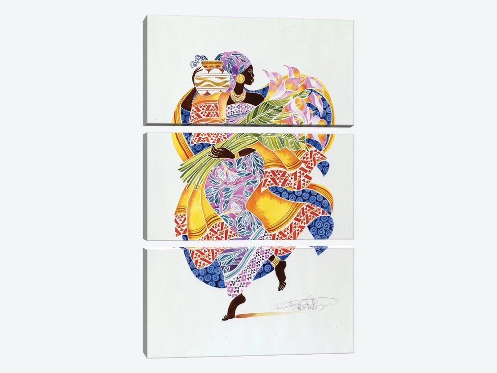 Jaha by Keith Mallett 3-piece Art Print
