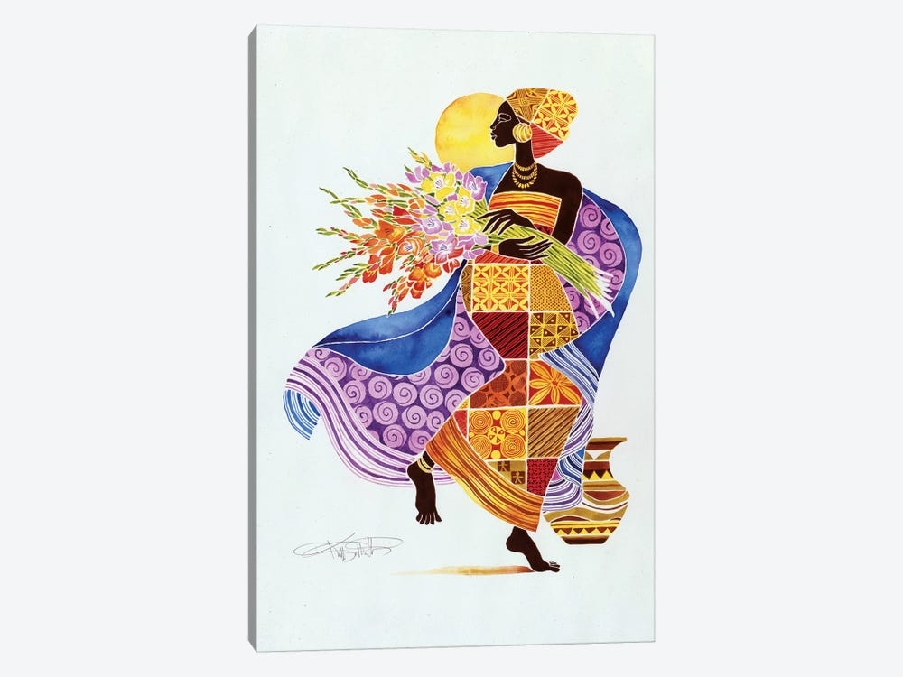 Kikora by Keith Mallett 1-piece Canvas Wall Art