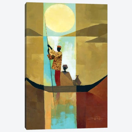 On The River I Canvas Print #KMA63} by Keith Mallett Canvas Wall Art