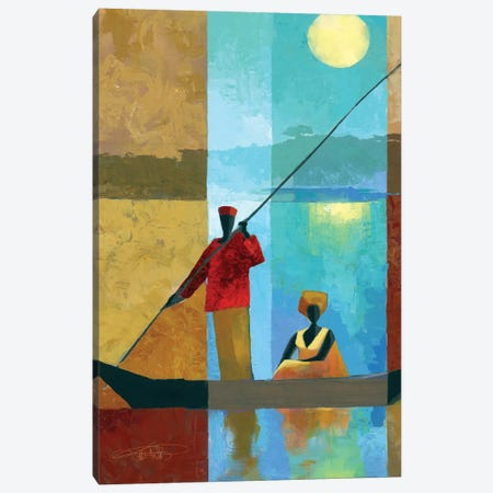 On The River II Canvas Print #KMA64} by Keith Mallett Canvas Print
