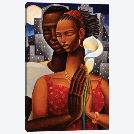 Rhapsody Canvas Print #KMA65} by Keith Mallett Art Print