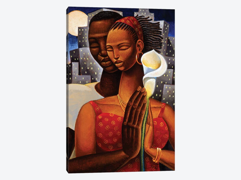 Rhapsody by Keith Mallett 1-piece Canvas Print