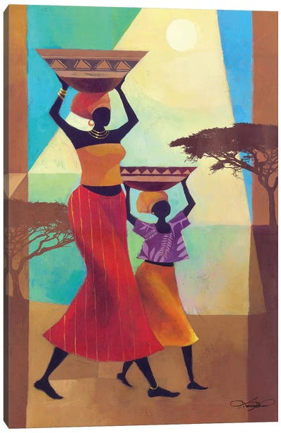 Mother's Helper Canvas Art Print
