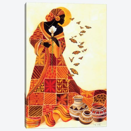 Souls Flight Canvas Print #KMA8} by Keith Mallett Canvas Wall Art