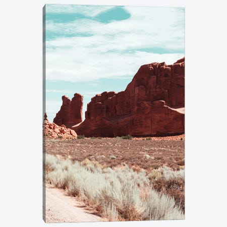Arizona Landscape Canvas Print #KMD13} by Karen Mandau Canvas Artwork