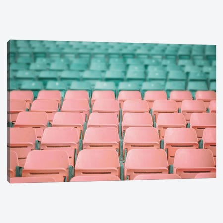 Stadium Seats Canvas Print #KMD143} by Karen Mandau Canvas Art Print